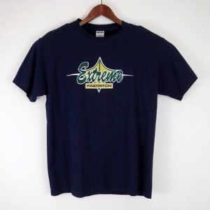 Jerzees Extreme Fastpitch Navy Blue T Shirt Large
